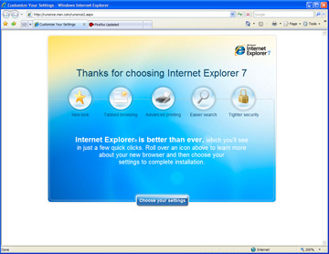 ie on ie